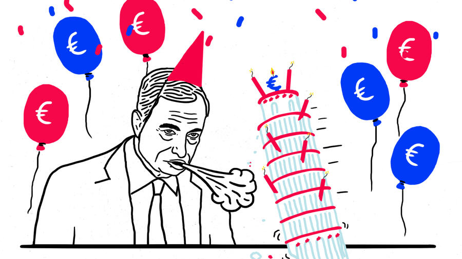 Mission Creep As The ECB Turns 20 Italy Spoils Its Party