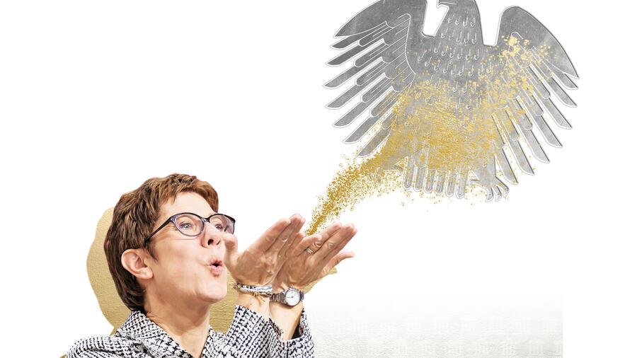 Annegret Kramp-Karrenbauer – Aus dem Saarland an die Spitze der CDU