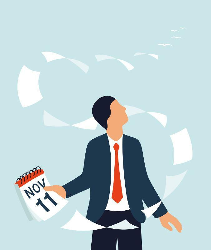 Zeitmanagement: So sehen die Terminkalender von drei Top-Managern aus