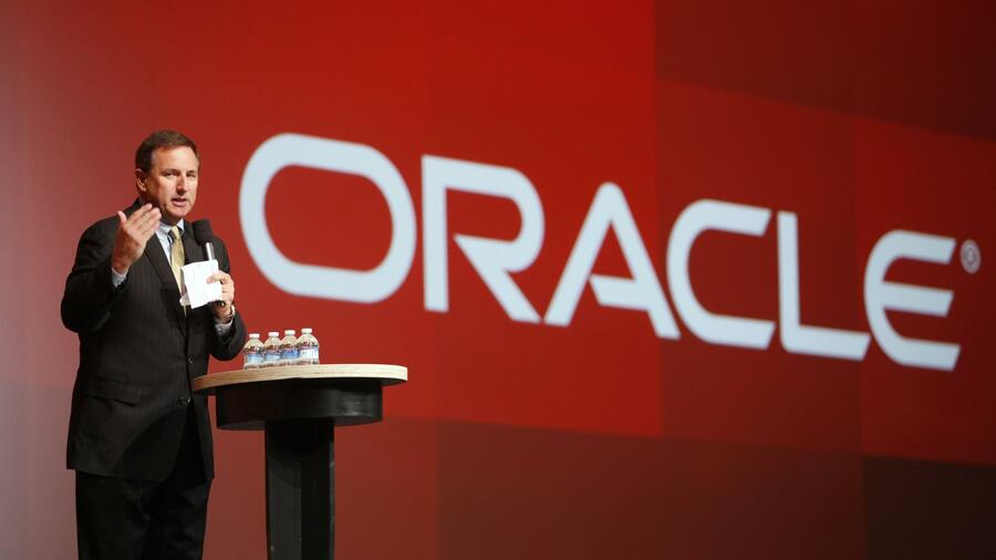 Oracle-Chef Mark Hurd. Quelle: AFP