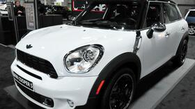 Ein Mini Cooper auf der Auto Show in Washington. Quelle: AFP