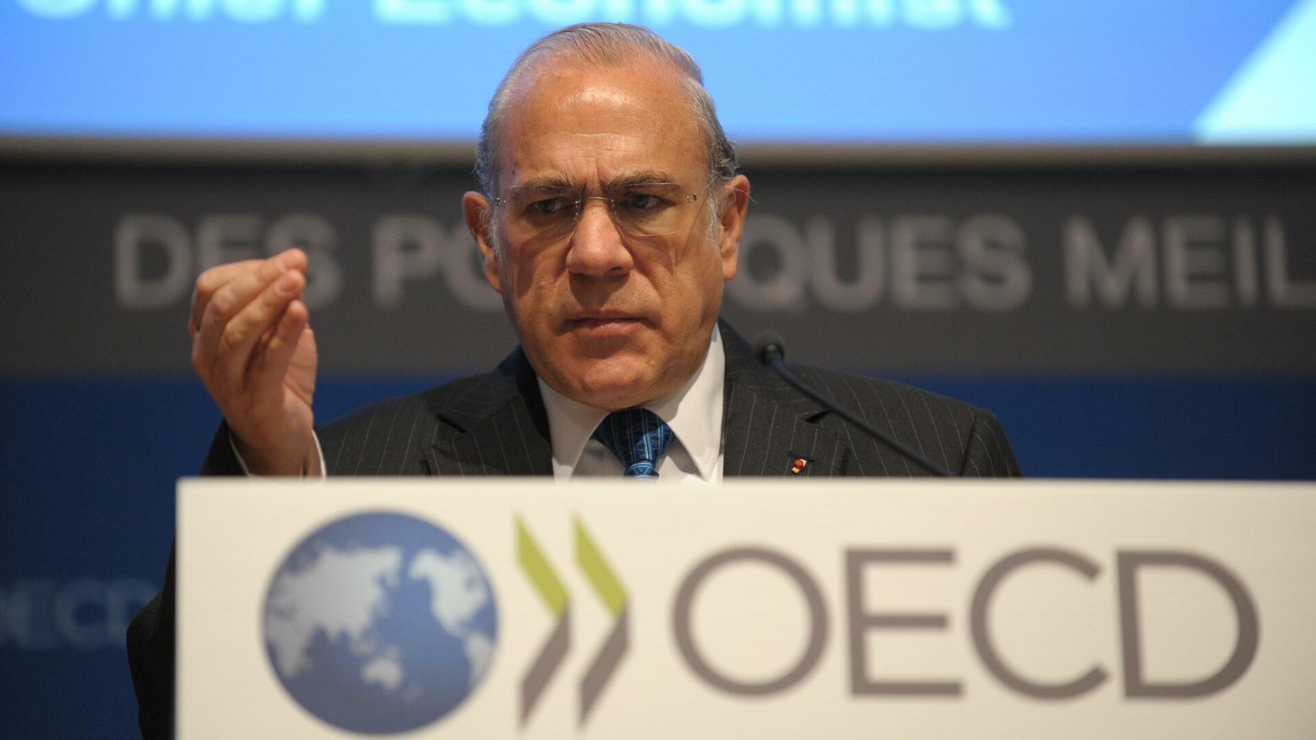 """OECD-Chef Gurria: Griechenlands Fortschritte sind """"spektakulär"""""""