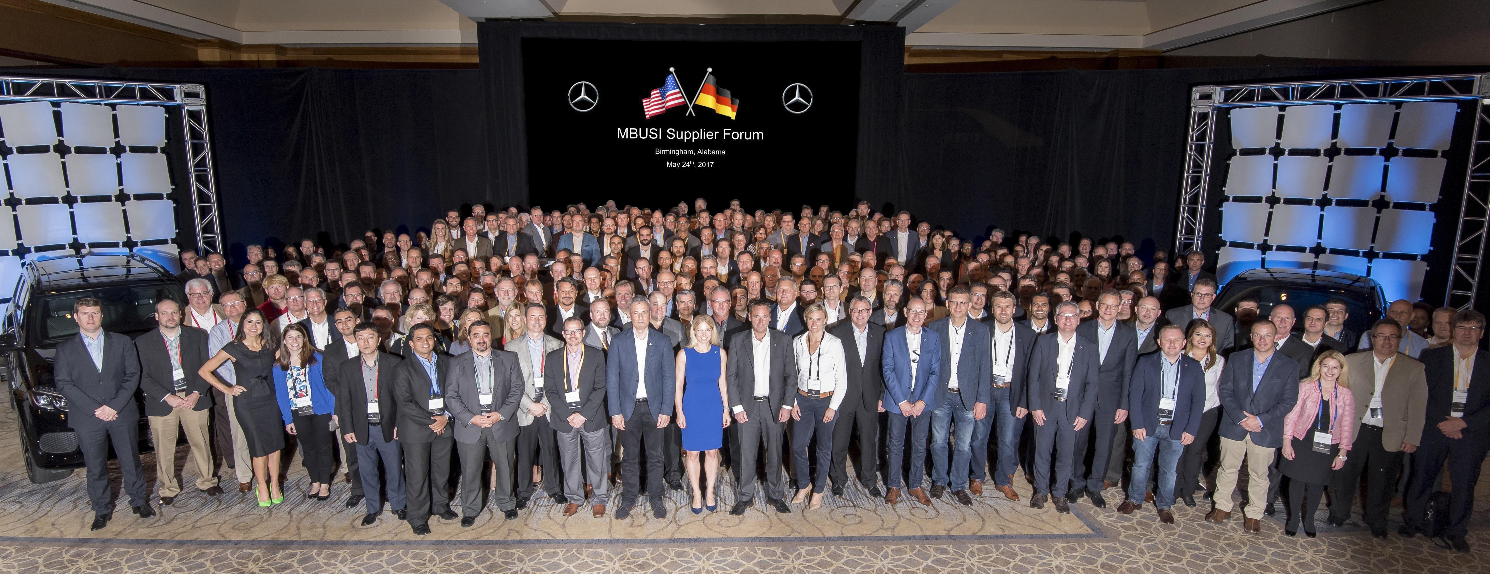 Mercedes Benz U S International Inc Supplier Forum 2017 Paving Future Way Of The Network Usa