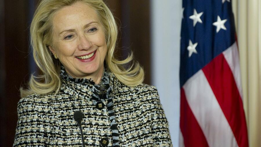 US-Außenministerin Hillary Clinton Quelle: AFP