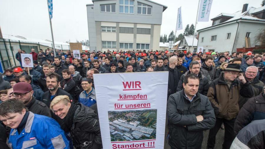 German Redundancies: Fighting the Siemens Job Axe