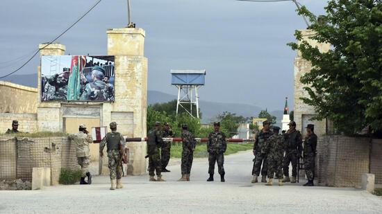 Afghanischer Soldat verletzt 7 US-Soldaten class=