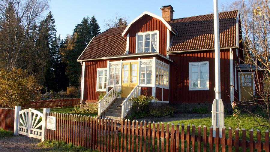 Superb Oft Aus Holz: Ferienhäuser In Schweden. Quelle: Picture Alliance