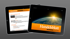 iPad-App: Handelsblatt Morning Briefing App