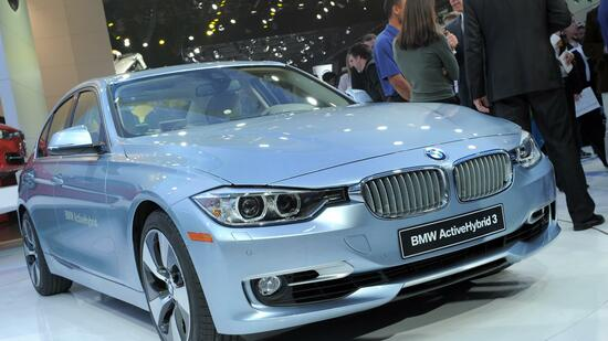 BMW-Modell auf der Messe in Detroit. Quelle: AFP