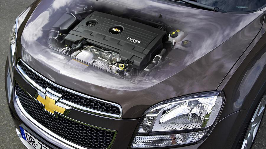 Chevrolet Orlando Gegen Opel Zafira Gleiche Technik Fr Weniger Geld