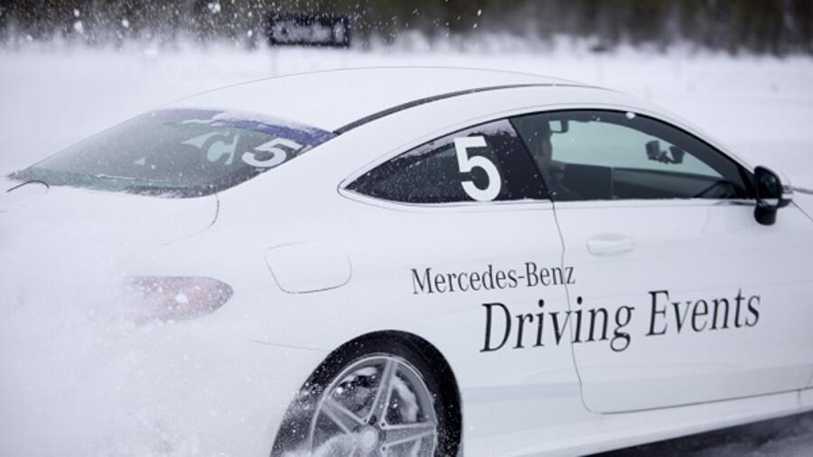 Experience Mercedes-Benz Driving Events in a video game