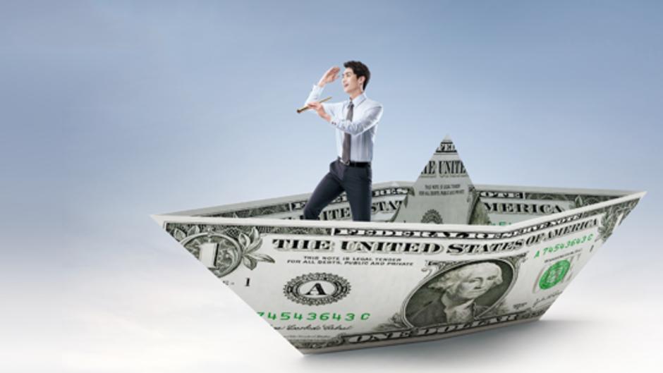 Devisen 2015: Voller Dollar voraus