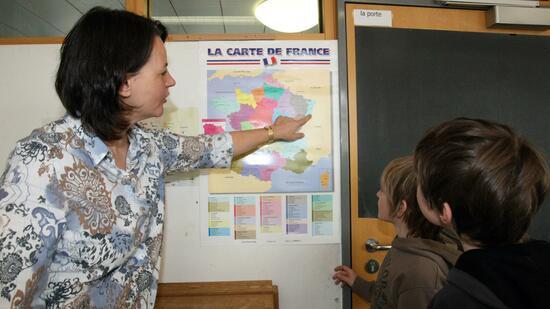 Etwas kennenlernen französisch