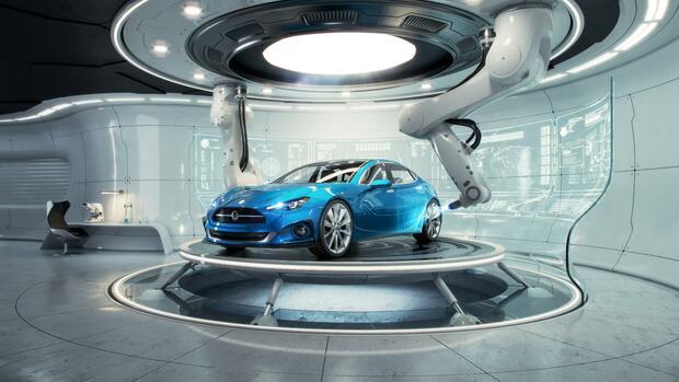Industrie 4.0: Der Traum vom gedruckten Auto könnte bald wahr werden - Handelsblatt