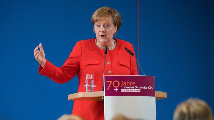 Bundeskanzlerin zu Besuch: Frauen Union der CDU feiert den 70