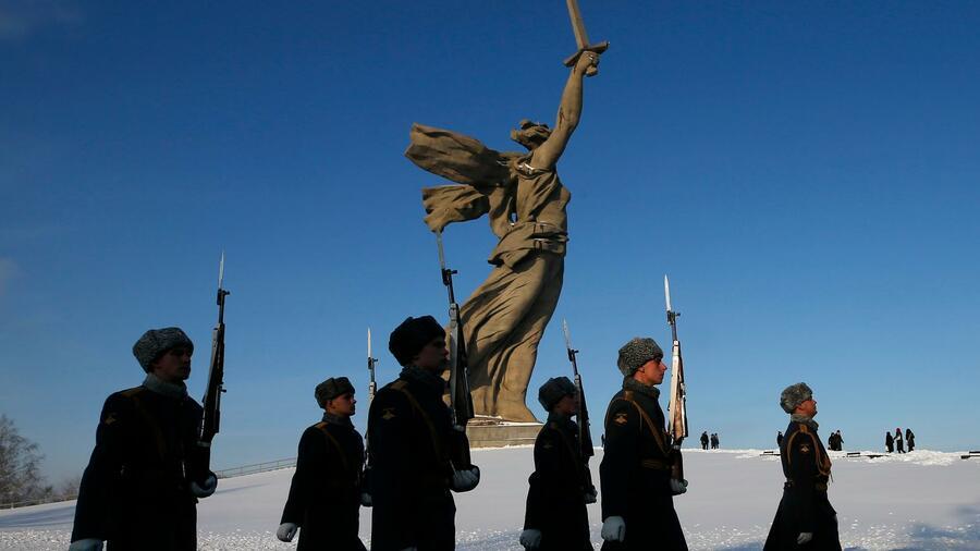 Erinnerung an Schlacht von Stalingrad