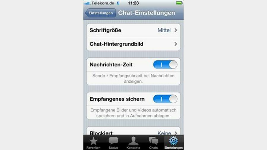 Sehen status trotz blockierung whatsapp online WhatsApp Profilbild
