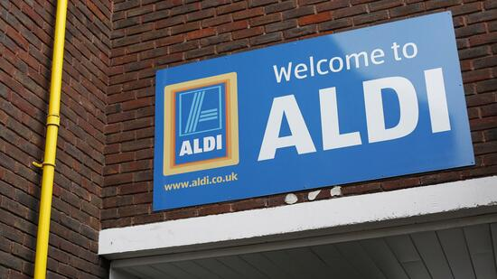 Aldi-Filiale in Großbritannien. Quelle: Reuters