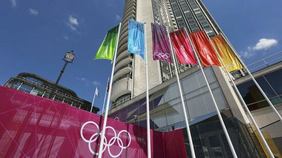 huGO-BildID: 27227806 A general view of the Hilton hotel where International Olympic Committee (IOC) officials are staying, in central London July 22, 2012. REUTERS/Olivia Harris (BRITAIN - Tags: SPORT OLYMPICS SOCIETY) Quelle: Reuters