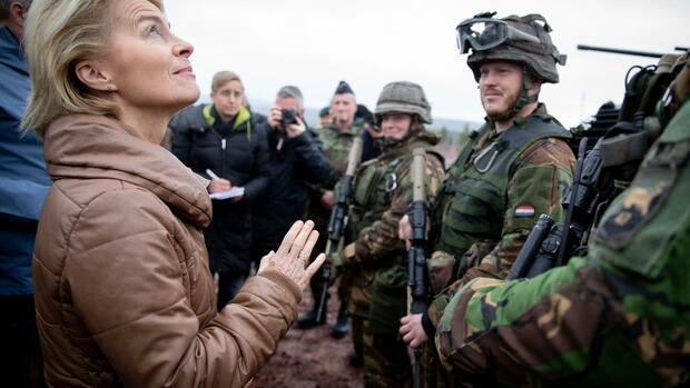 Ursula von der Leyen: Europe is forming an army