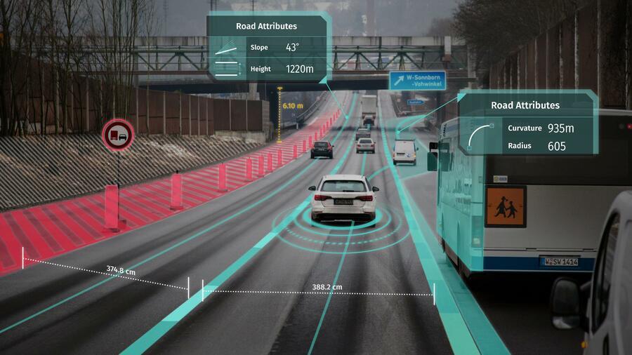 Warum die 3D-Karten von Here für die deutschen Autobauer so wichtig sind