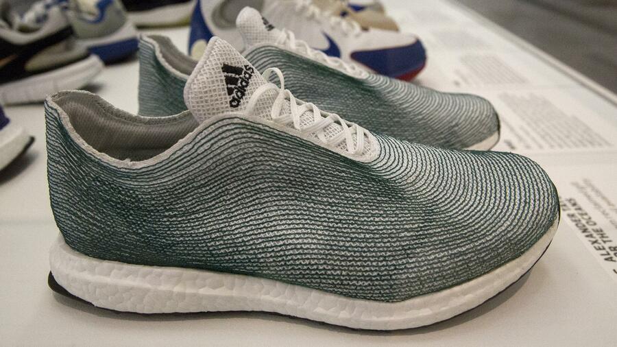 Adidas macht Schuhe aus Meeresmüll