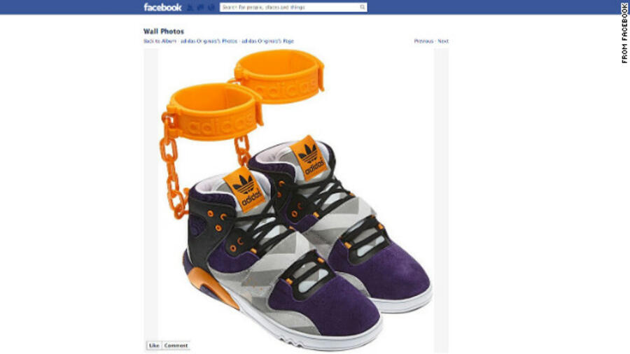 Adidas Sportschuh des Rassismus überführt | PI NEWS