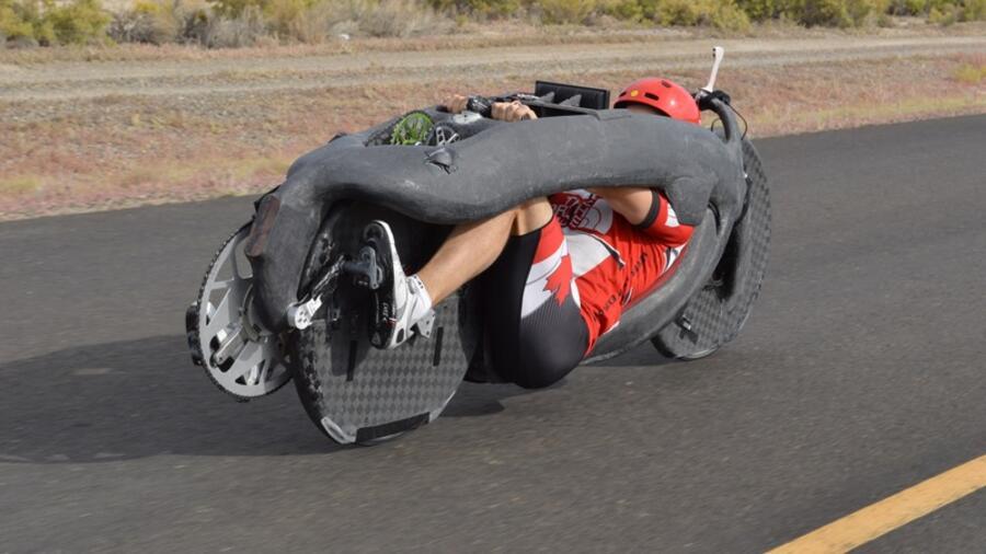Modestil erstklassig neue Kollektion Rekord-Bike Aerovelo Eta : Das schnellste Fahrrad der Welt