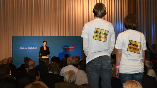 AfD-Chefin in Augsburg