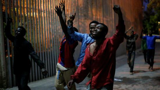 Marokko: Flucht in die spanische Exklave