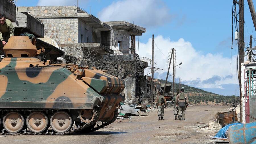 Erdogan: Zentrum von syrischer Stadt Afrin unter türkischer Kontrolle