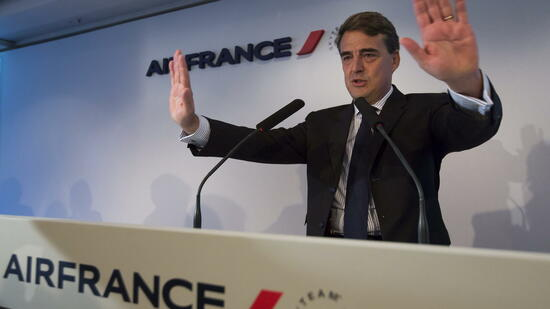 Kostenbremser: Air-France-Chef, Alexandre de Juniac, will die Ticketpreise senken. Quelle: dpa