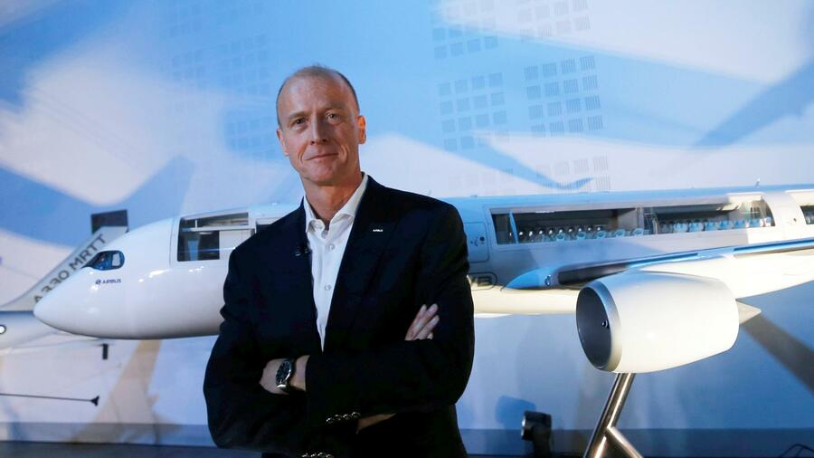 Airbus-Chef Thomas Enders. Quelle: Reuters