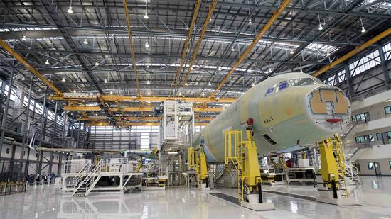 Airbus-Montage in Alabama