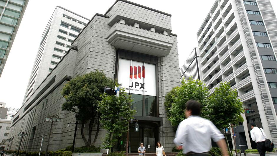 Tokioter Börse im Plus