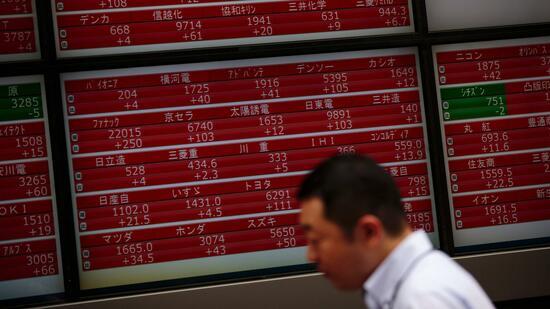 Börsen in Asien: Japanische Aktien im Aufwind