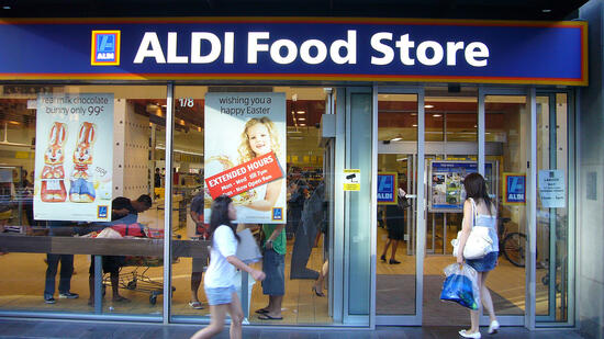 Aldi in Melbourne