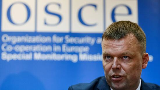OSZE hofft auf Abzug schwerer Waffen aus der Ostukraine
