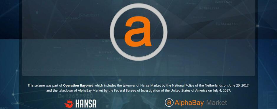 AlphaBay ausgehoben: Ermittlern glückt Schlag gegen Darknet-Handel