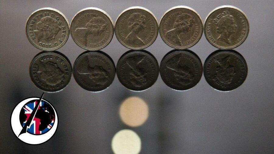 Großbritannien Bekommt Eine Neue Ein Pfund Münze