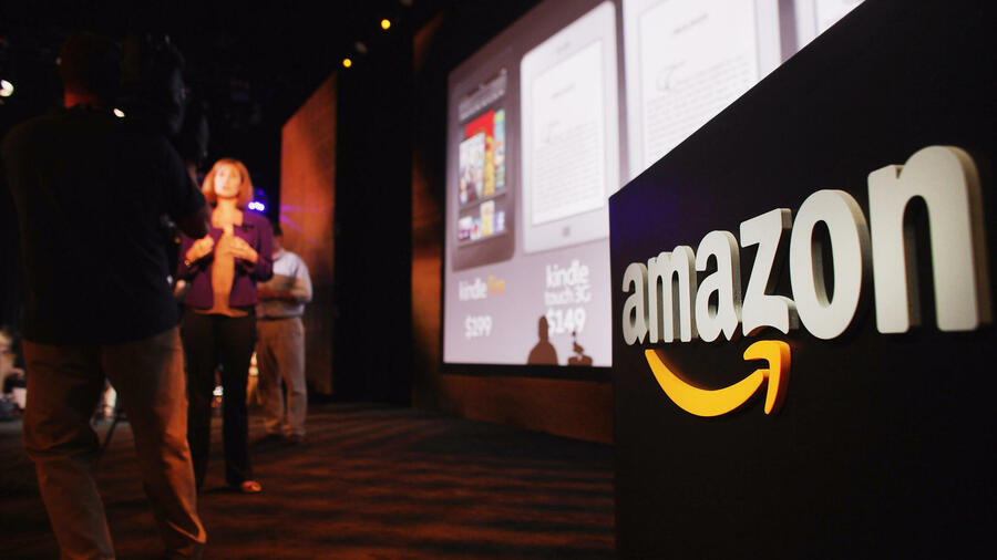 Die Präsentation des Kindle Fire in New York. Quelle: AFP