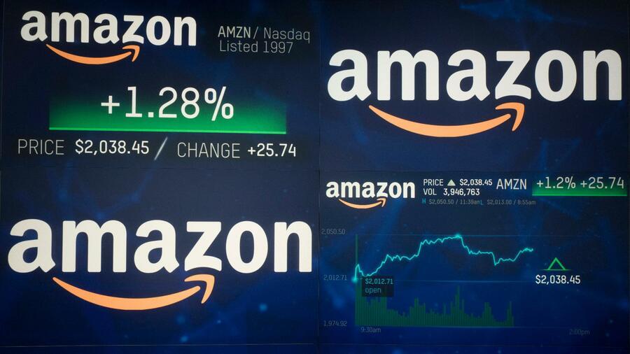 Amazon erstmals mehr als eine Billion Dollar wert