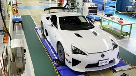 Lexus LFA: Abschied vom Supersportler