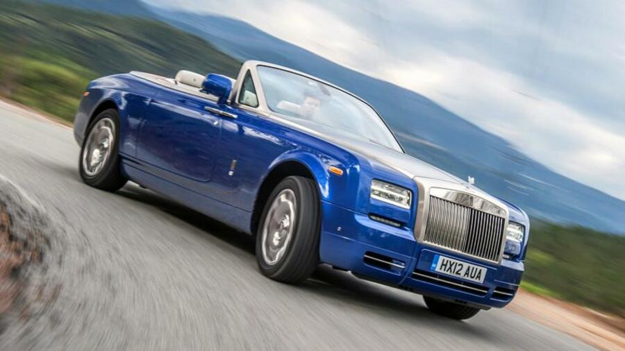 Rolls-Royce Phantom Drophead Coupé Quelle: PR