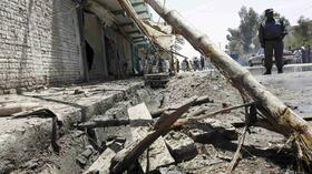 Bombenexplosion in Afghanistan. Quelle: Reuters