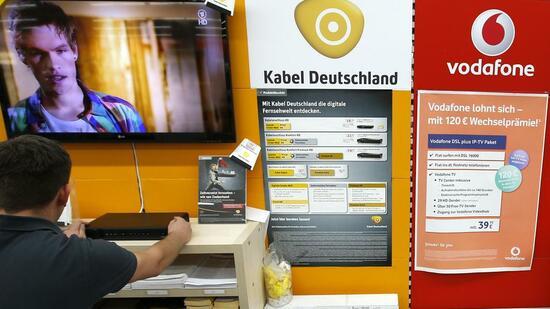 telekommunikation vodafone vor der bernahme von kabel deutschland. Black Bedroom Furniture Sets. Home Design Ideas