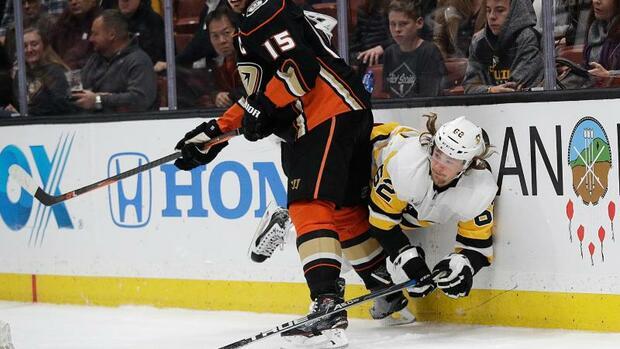 Eishockey: NHL: Kühnhackl verliert mit Pittsburgh gegen Anaheim