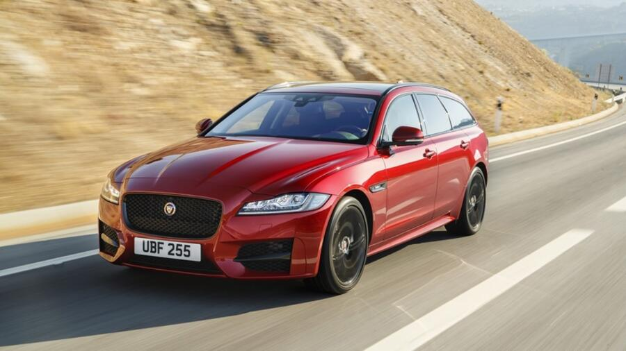 Test: Jaguar XF Sportbrake  - Really different Quelle: Jaguar