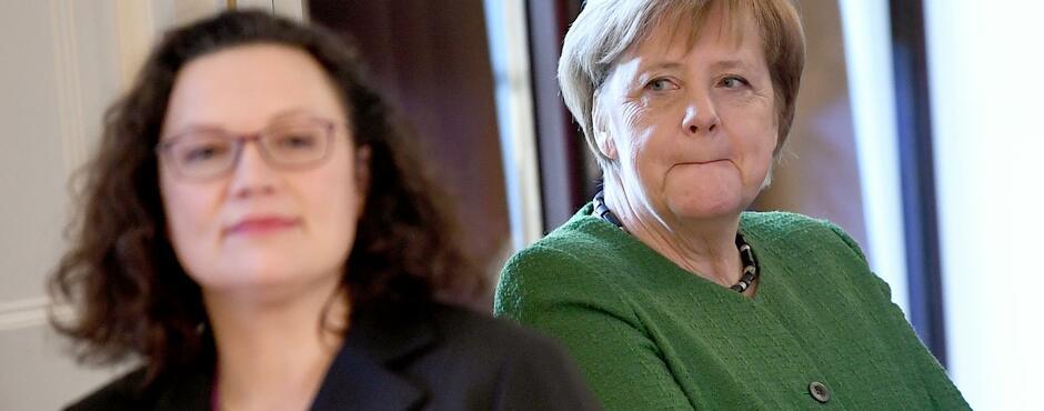 Mit jedem Prozentpunkt, den die SPD dazugewinnt, rückt das GroKo-Ende näher