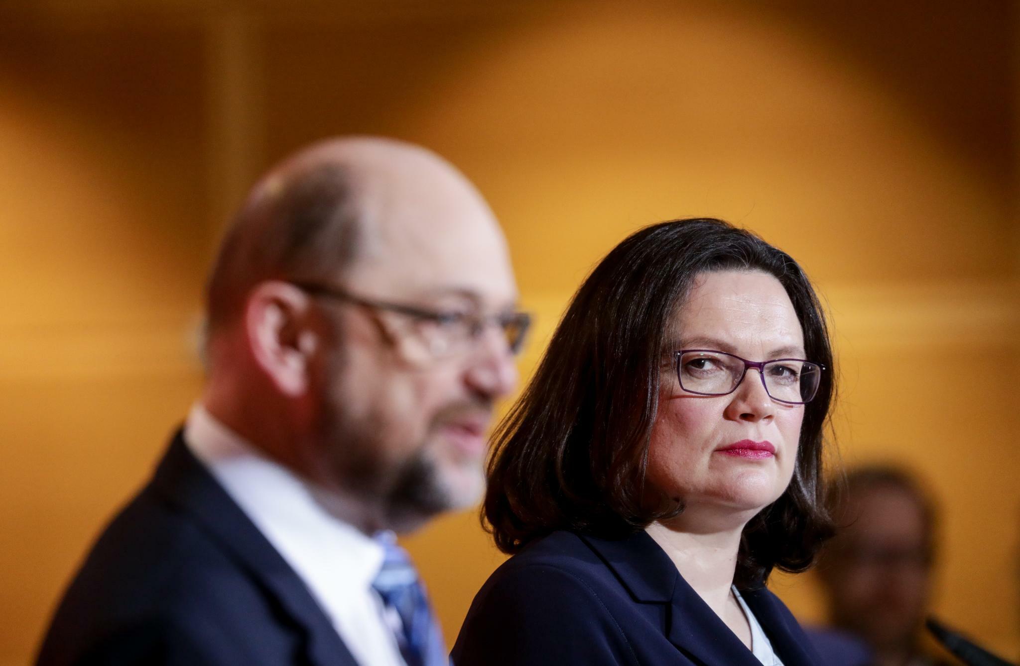 """Andrea Nahles Als SPD Chefin """"Rein Rechtlich Hoch Bedenklich"""""""